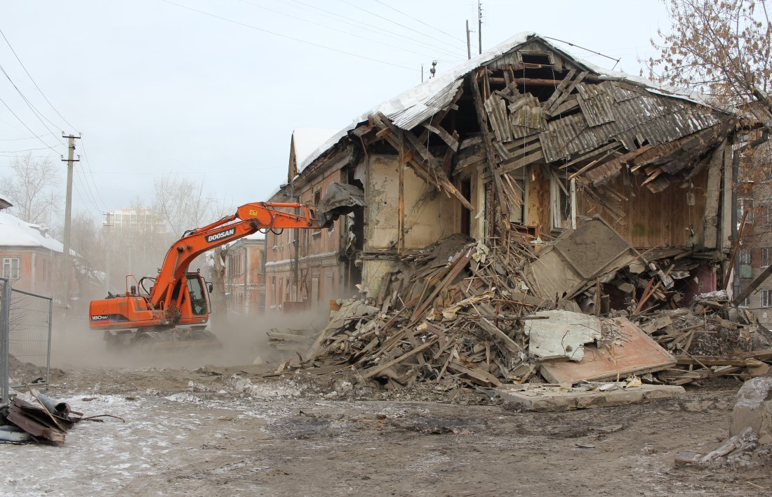 Демонтаж зданий, г. Екатеринбург
