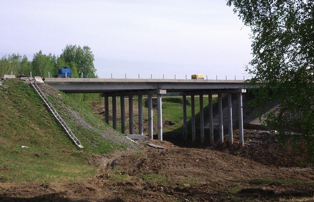 Мост через р. Краснояр
